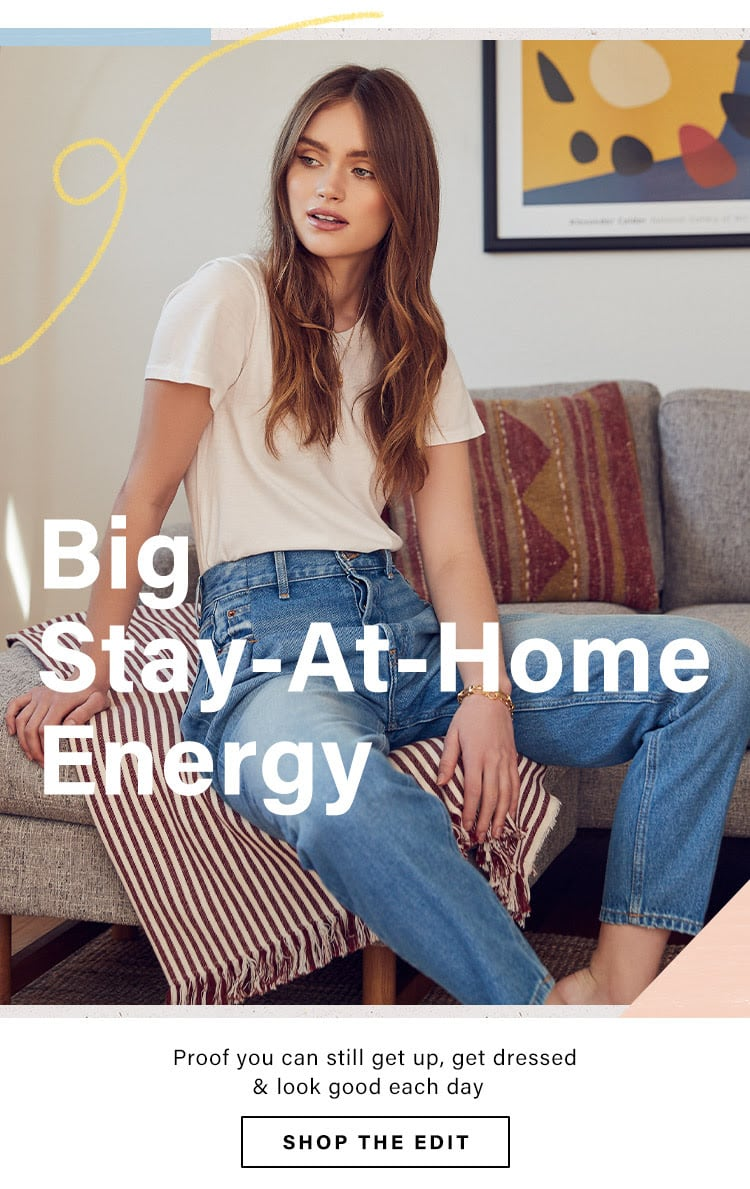 Big Stay-At-Home Energy: Easy, Effortless Basics for Your Day-to-Day Wardrobe