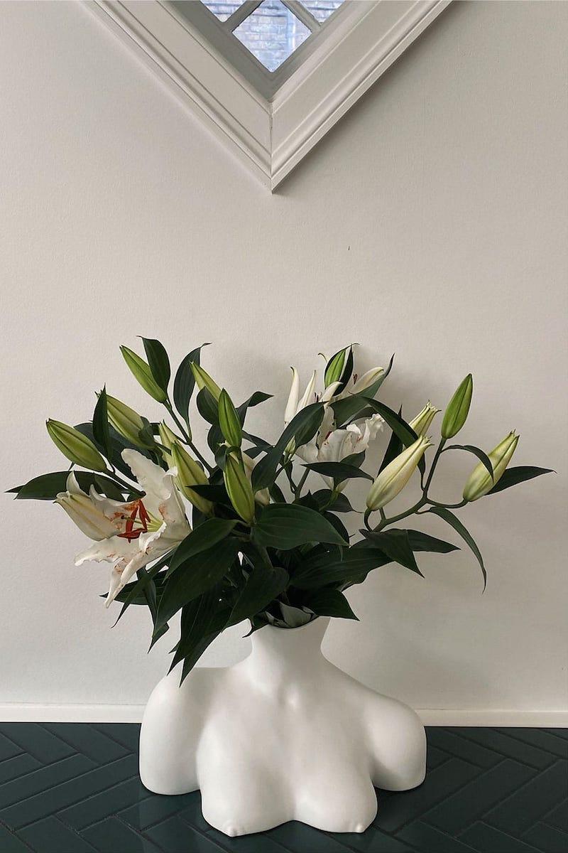 Anissa Kermiche Breast Friend Ceramic Vase