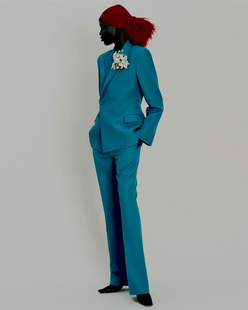 Balenciaga Waisted Double-Breasted Jacket