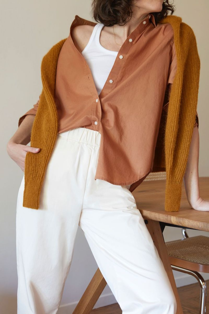 Everlane Silky Cotton Relaxed Shirt