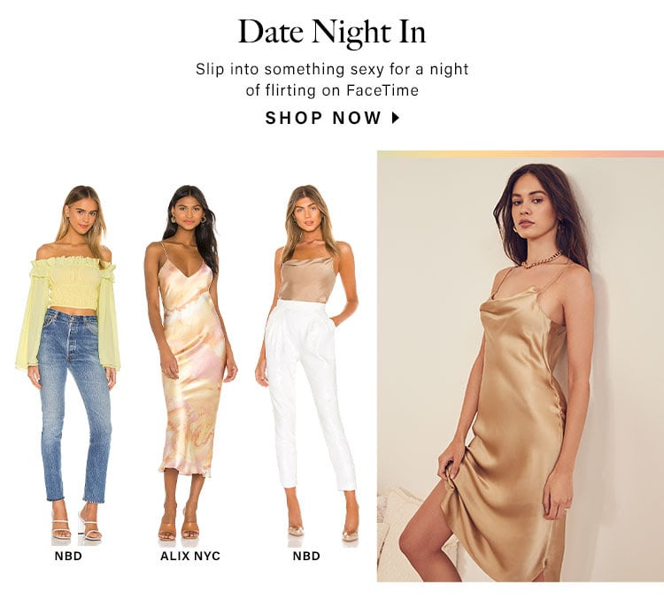 Date Night In: Slip into something sexy for a night of flirting on FaceTime - Shop Now