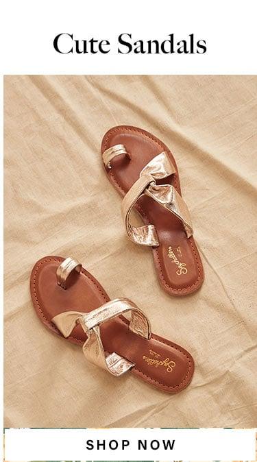 Cute Sandals. Shop Now.
