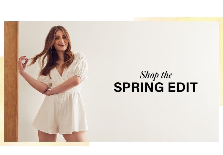 Shop the spring edit.