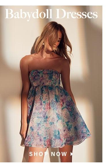 Looks We Love: Pretty Girl Summer: Babydoll Dresses  - Shop Now