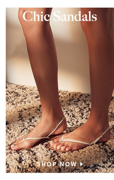 Looks We Love: Pretty Girl Summer: Chic Sandals - Shop Now