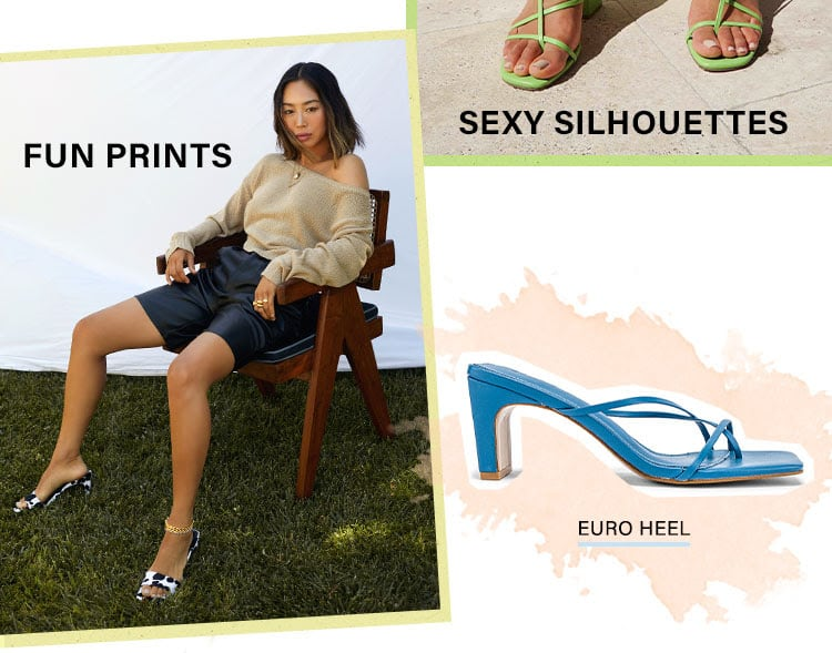Introducing: Song of Style Shoes: Get dressed up from the feet up with the brand new collection of ultra-chic SOS shoes + ready-to-wear pieces - Shop the Collection