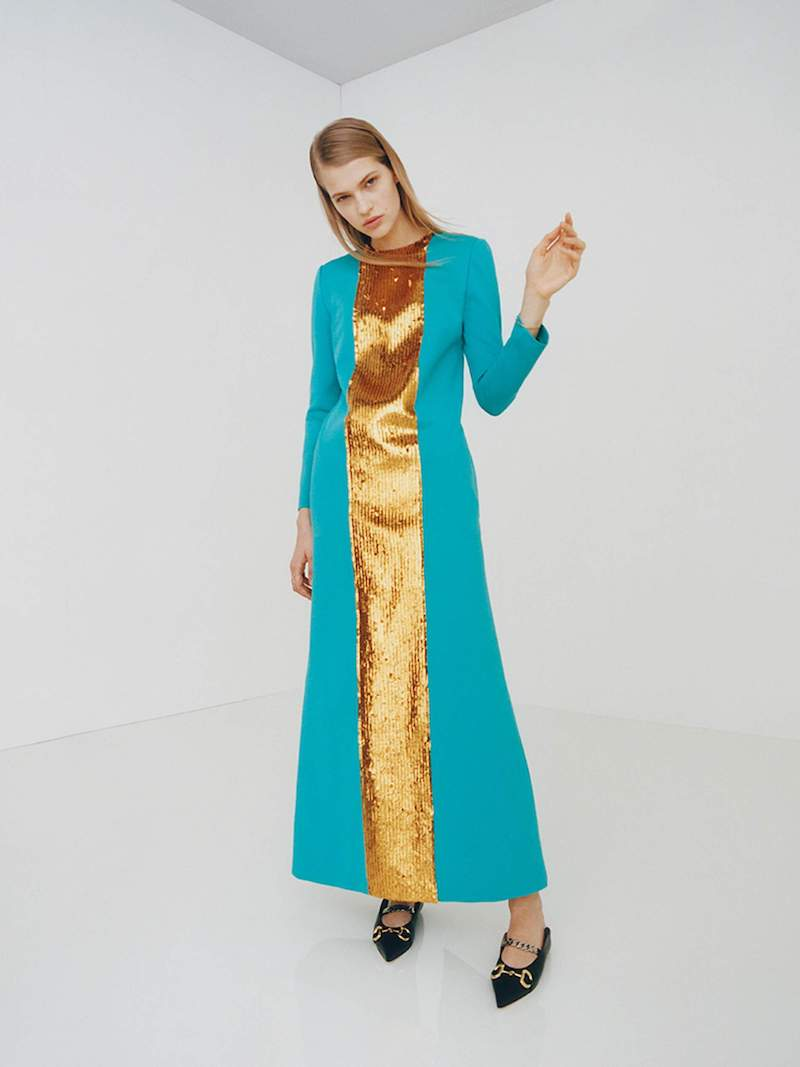 Gucci Viscose Jersey Dress With Sequins