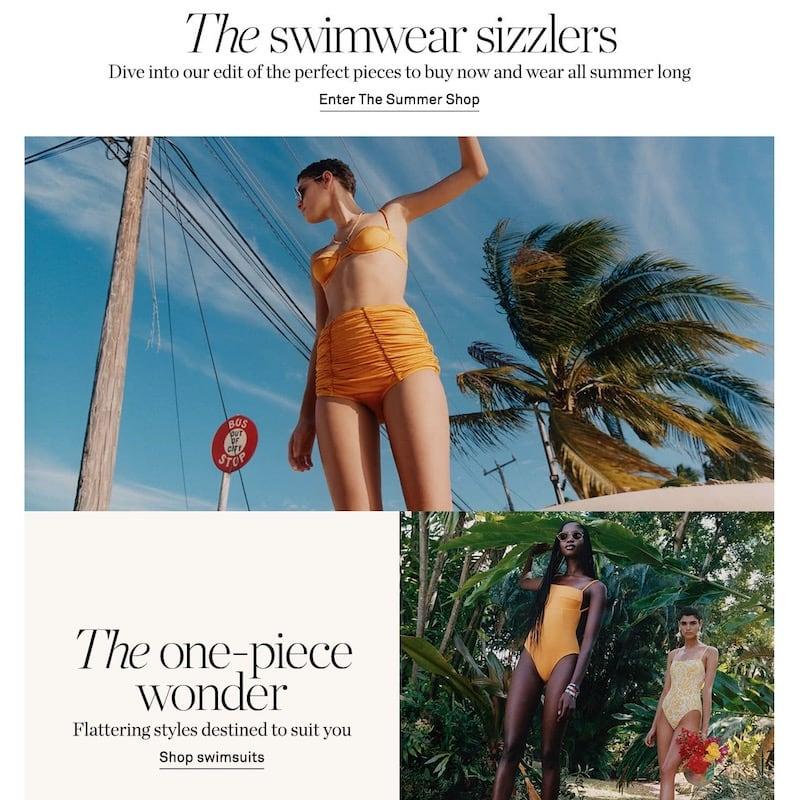 NET-A-PORTER Summer 2020 Swimwear Sizzlers