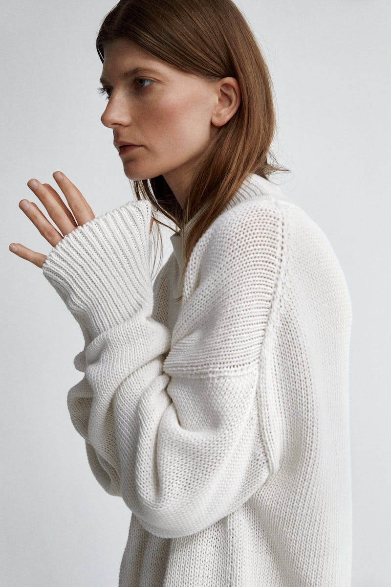 The Row x Mytheresa Cristina Cotton and Cashmere Sweater