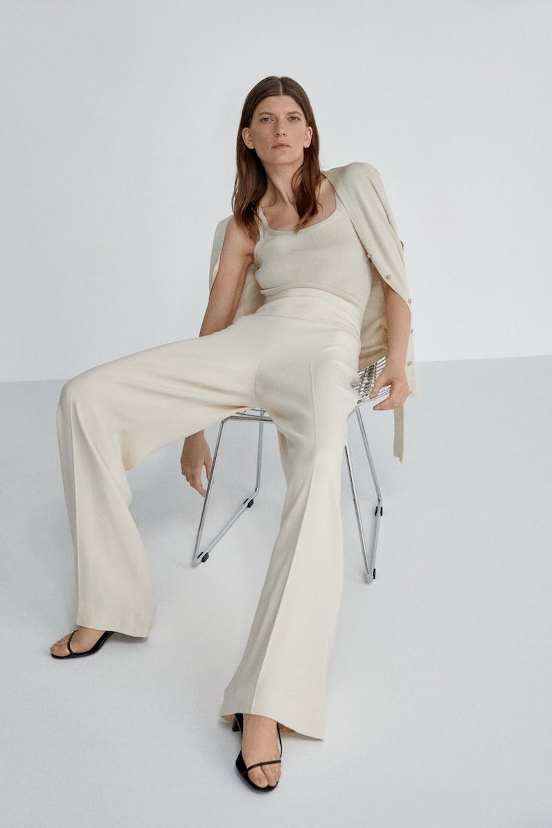 The Row x Mytheresa Lucinda High-Rise Cady Pants