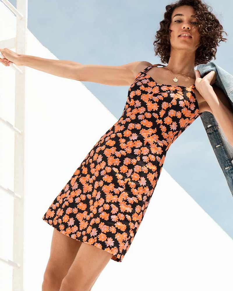 VEDA Selena Denim Dress