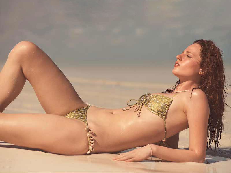 Zimmermann Peggy Shell Side Bikini Set
