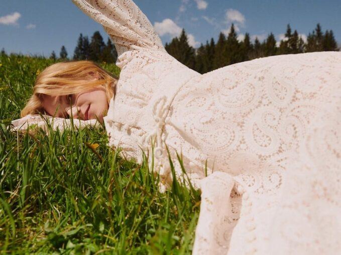Zimmermann x Mytheresa Lace Midi Dress