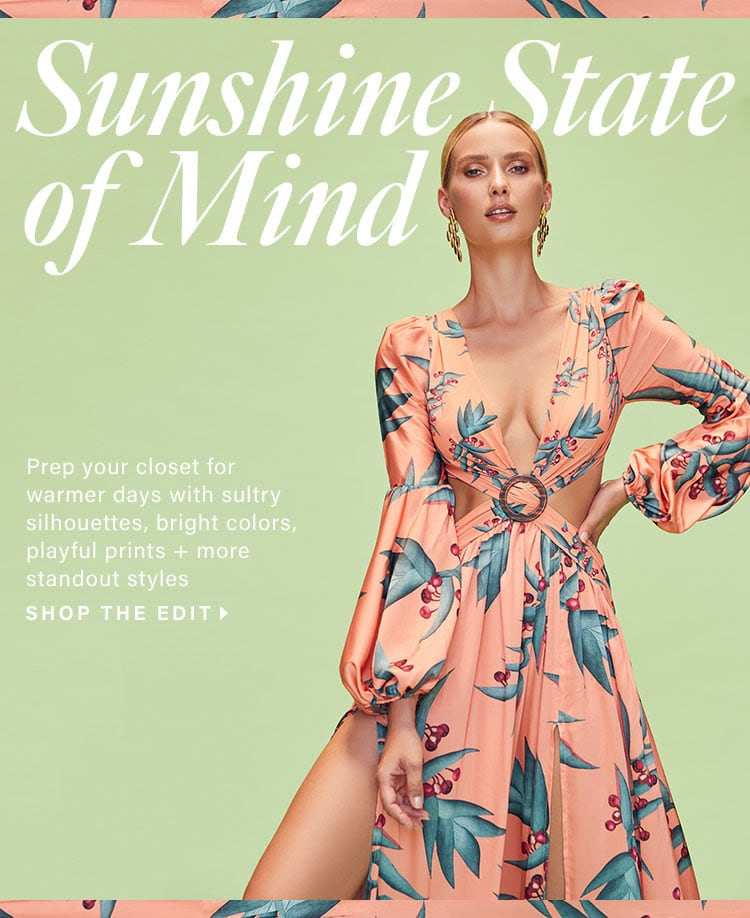 Sunshine State of Mind: Hot Summer Trends You Need Now