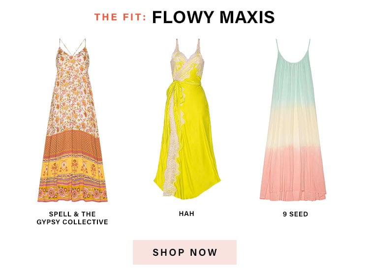 The Official Dresses of Summer: The Fit: Flowy Maxis - Shop Now