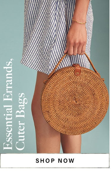 Essential Errands, Cuter Bags. SHOP NOW