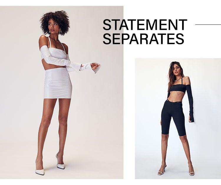 Statement Separates
