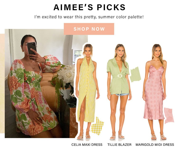 Aimee's Picks. I'm excited to wear this pretty, summer color palette! Shop Now