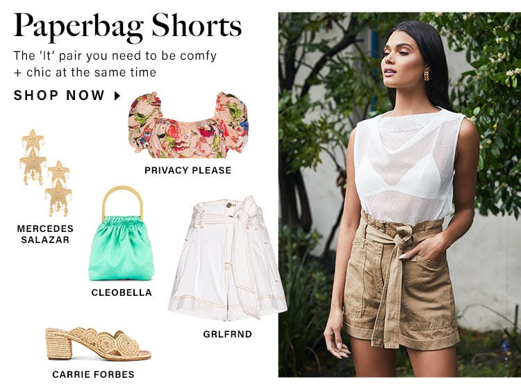 Paperbag Shorts: The 'It' pair you need to be comfy + chic at the same time - Shop Now