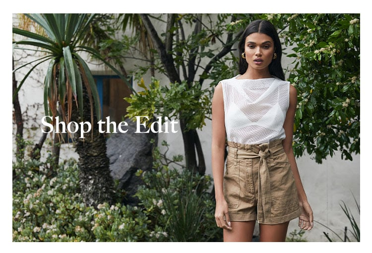 Weekend Vibe: Casual-Chic. Revive your weekend wardrobe with just the right combo of effortless, yet totally on point outfits - Shop the Edit