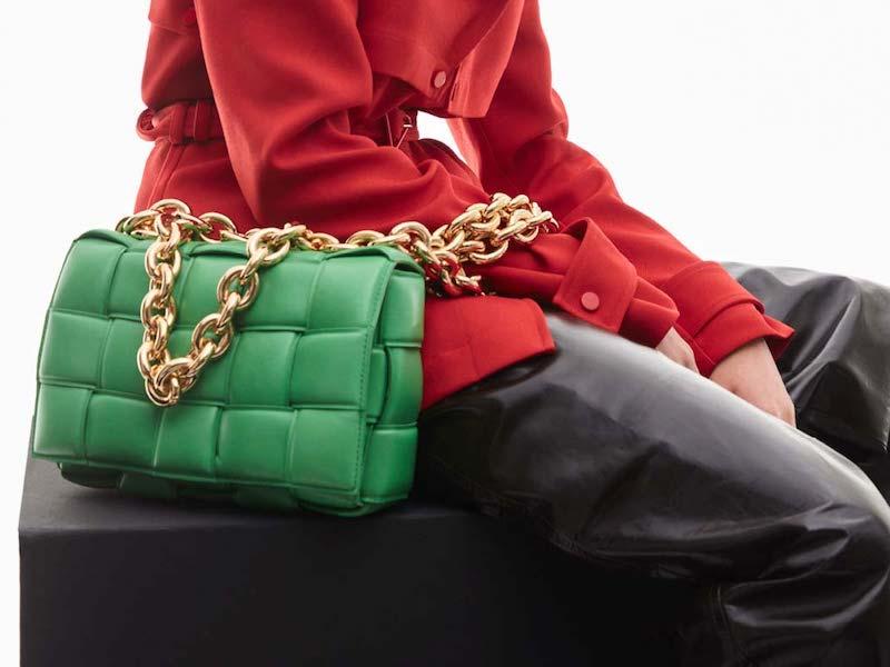 Bottega Veneta The Chain Cassette Leather Shoulder Bag 1
