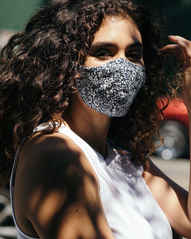 Everlane 100% Human Floral-Print Face Mask 2-Pack
