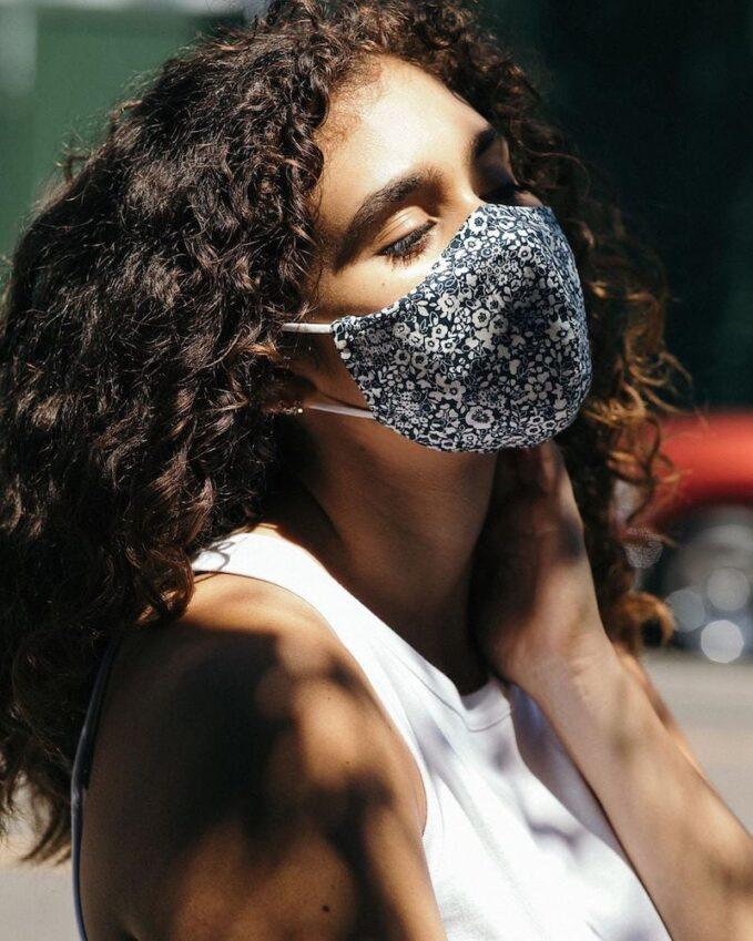 Everlane 100% Human Floral-Print Face Masks