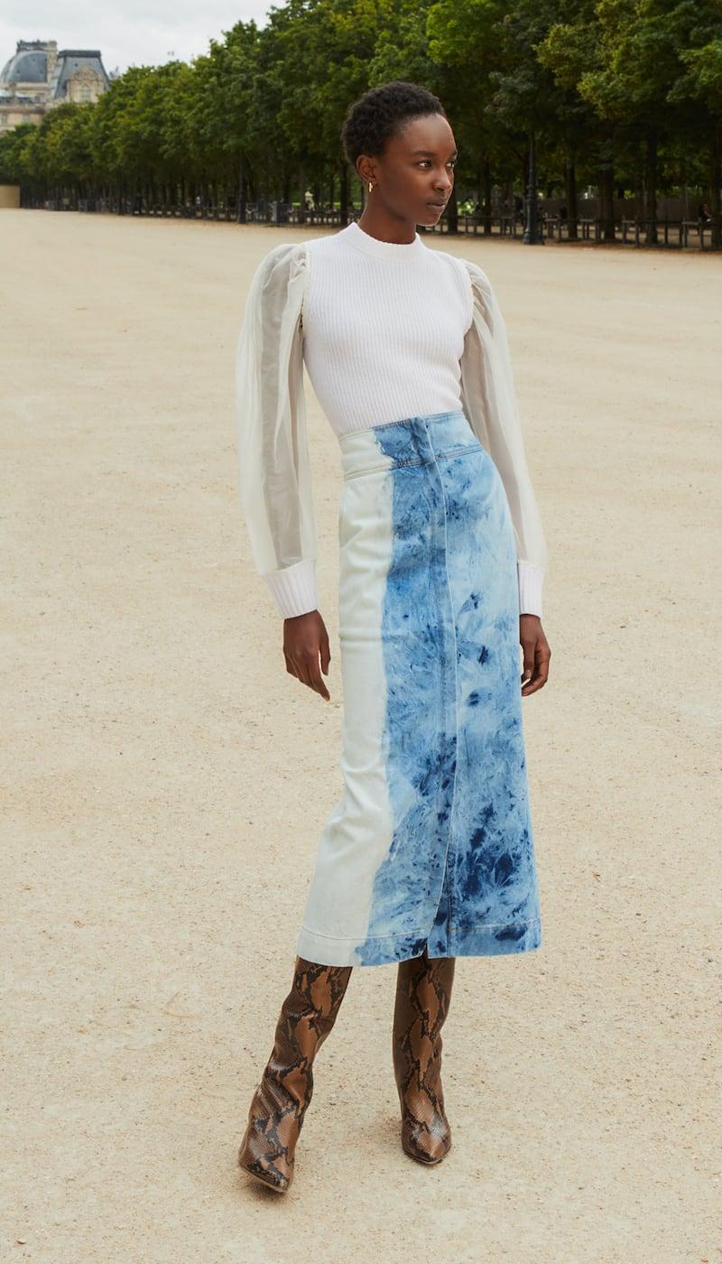 Sea Doris Long Line Skirt