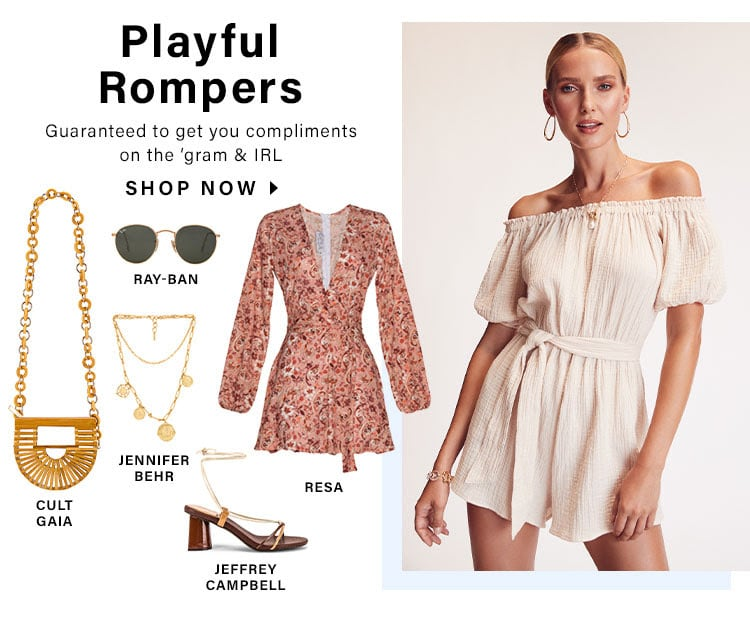 Playful Rompers: Guaranteed to get you compliments on the 'gram & IRL - Shop Now