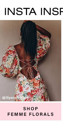 Insta Inspo. Everything we're loving on IG & IRL. Shop Femme Florals