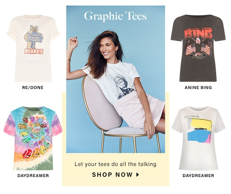 Graphic Tees: Let your tees do all the talking - Shop Now