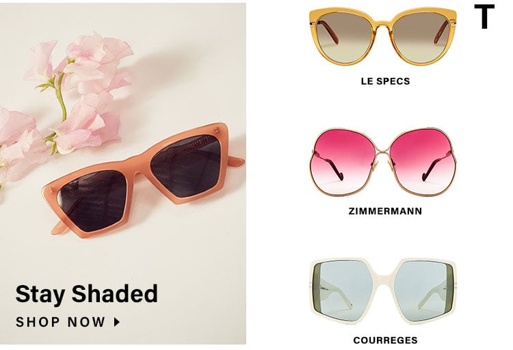 Stay Shaded. Shop now.