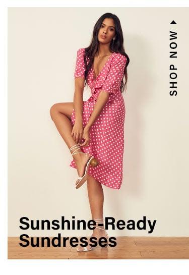 Sunshine-Ready Sundresses. Shop now.