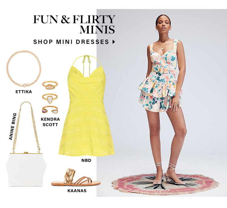 Dresses We're obsessing over. More reasons to get dressed up this season. Fun & Flirty Minis. Shop mini dresses.
