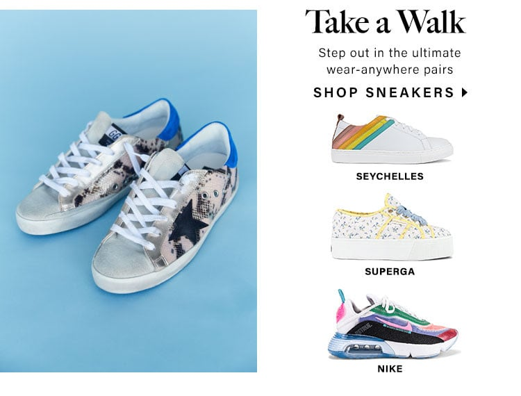Take a Walk. Step out in the ultimate wear-anywhere pairs. Shop sneakers.