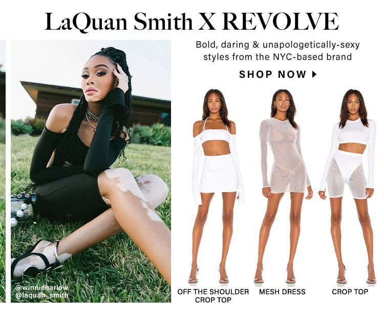 LaQuan Smith X REVOLVE: Bold, daring & unapologetically-sexy styles from the NYC-based brand - Shop Now