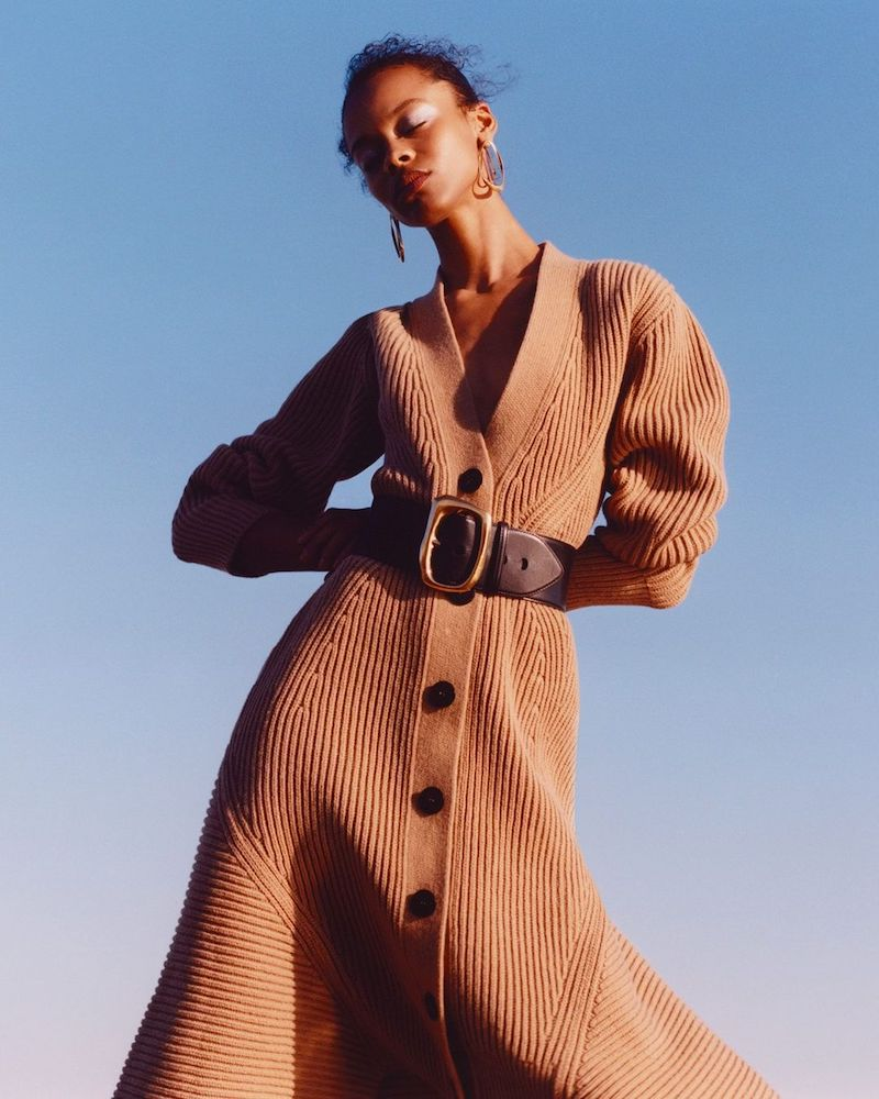 Alexander McQueen Ribbed Wool and Cashmere-Blend Coat