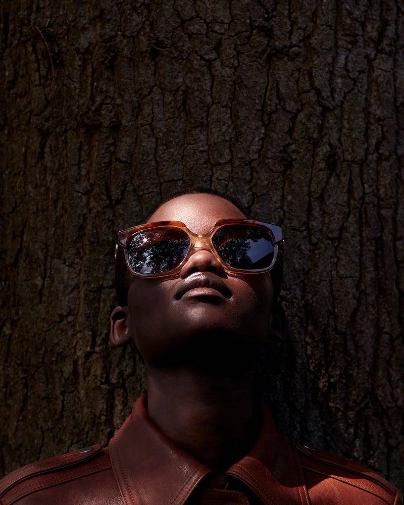 Celine Eyewear Square Tortoiseshell-Acetate Sunglasses
