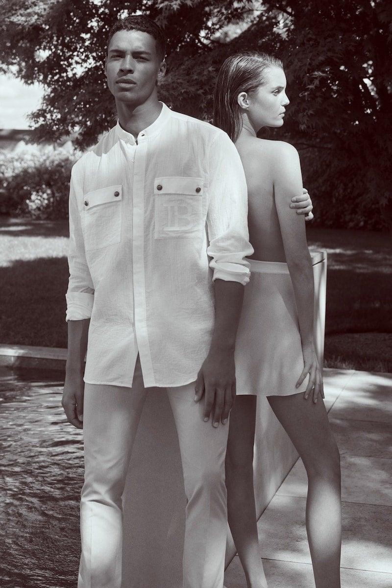 Exclusive to Mytheresa Balmain Long-Sleeved Cotton Shirt