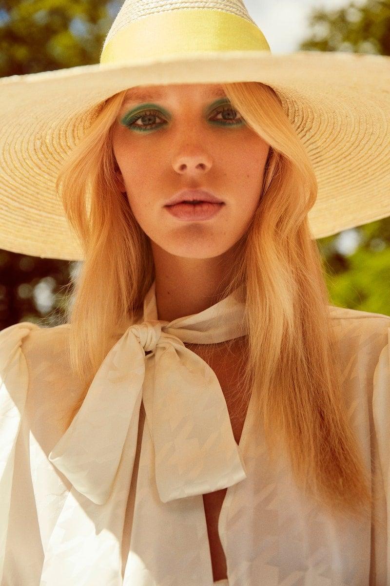 Exclusive to Mytheresa Balmain Wide-Brim Straw Hat