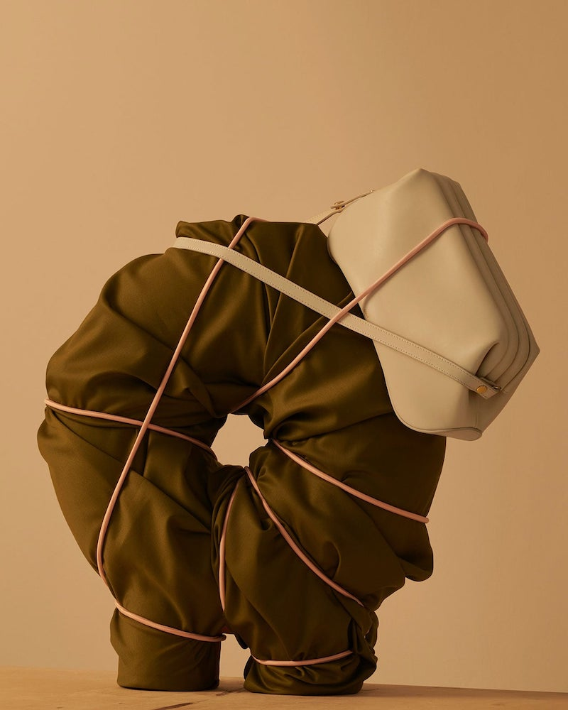 Osoi Dutch Brot Leather Shoulder Bag