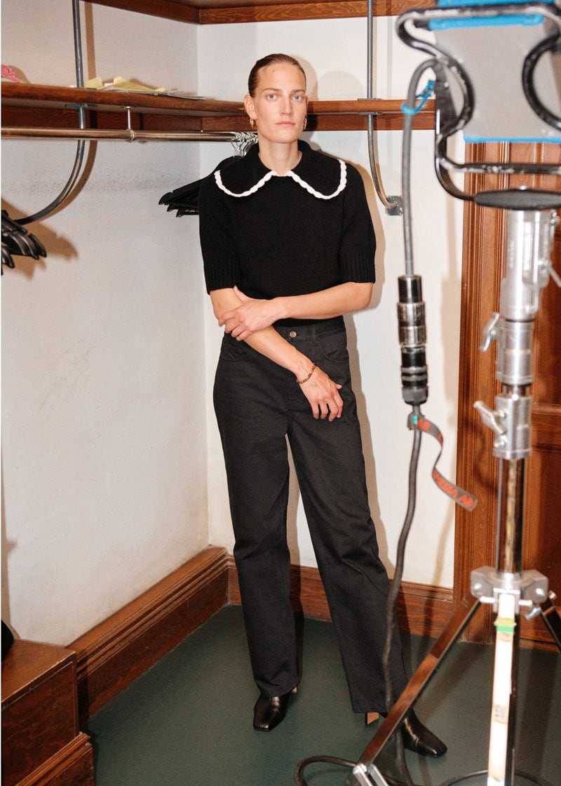 & Other Stories Wide High Rise Trousers