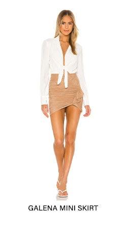 Galena Mini Skirt
