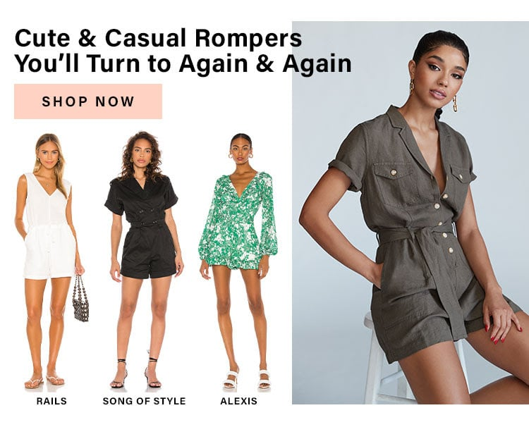 Oh So Effortless: Cute & Casual Rompers You'll Turn to Again & Again - Shop Now