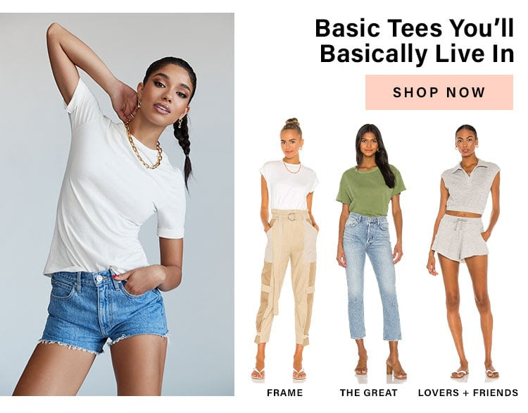 Oh So Effortless: Basic Tees You'll Basically Live In - Shop Now