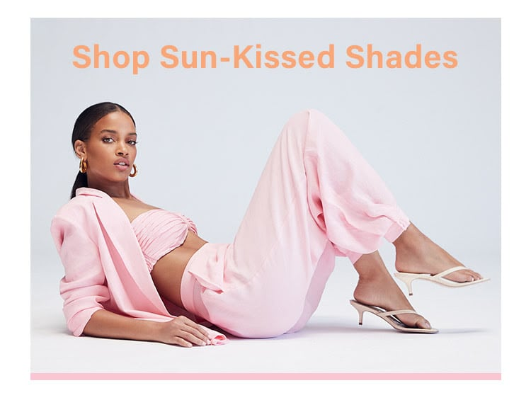 Sun-Kissed Shades: Give your summer wardrobe a glow up with these sunshine-y shades - Shop the Edit