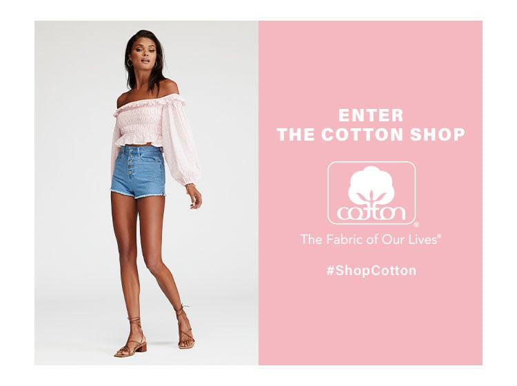 Enter the Cotton Shop