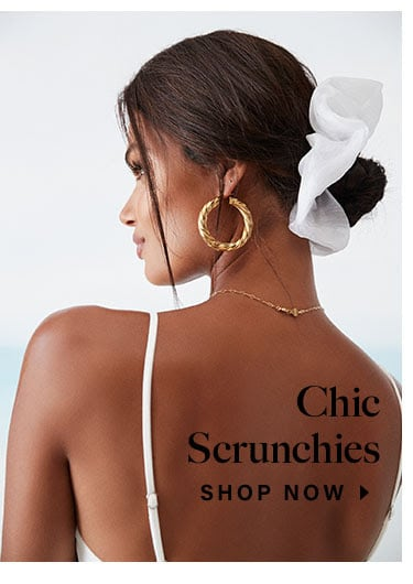 Chic Scrunchies. Shop Now