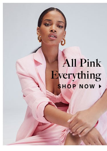 All Pink Everything. Shop Now