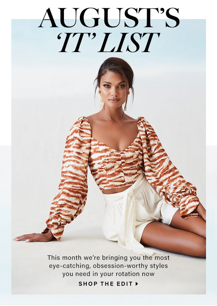 What To Wear // REVOLVE August 2020 It List